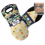 Tribal2 Neoprene Oven Mitt (Personalized)