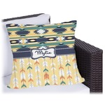 Tribal2 Outdoor Pillow (Personalized)