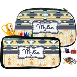 Tribal2 Neoprene Pencil Case (Personalized)