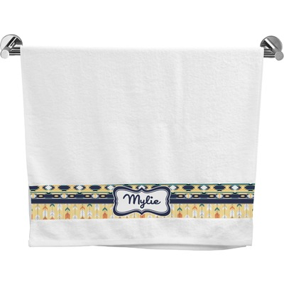 Tribal2 Bath Towel (Personalized)