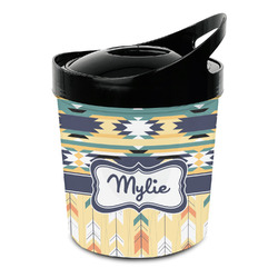 Tribal2 Plastic Ice Bucket (Personalized)