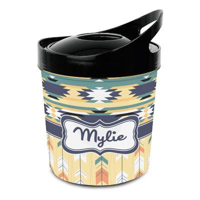 Tribal2 Plastic Ice Bucket (Personalized)