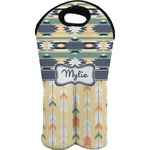 Tribal2 Wine Tote Bag (2 Bottles) (Personalized)