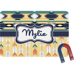 Tribal2 Rectangular Fridge Magnet (Personalized)