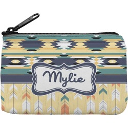 Tribal2 Rectangular Coin Purse (Personalized)