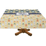 Tribal2 Rectangle Tablecloth (Personalized)