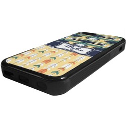 Tribal2 Rubber iPhone 5C Phone Case (Personalized)