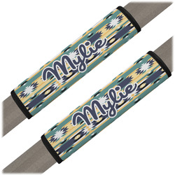 Tribal2 Seat Belt Covers (Set of 2) (Personalized)