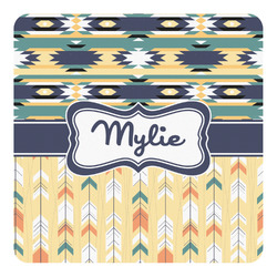 Tribal2 Square Decal - Custom Size (Personalized)