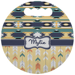Tribal2 Stadium Cushion (Round) (Personalized)