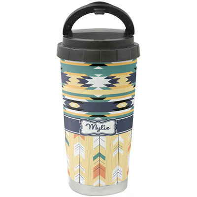 Tribal2 Stainless Steel Coffee Tumbler (Personalized)