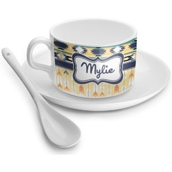 Tribal2 Tea Cups (Personalized)
