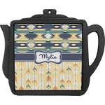 Tribal2 Teapot Trivet (Personalized)
