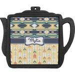 Tribal2 Teapot Trivet (Personalized)