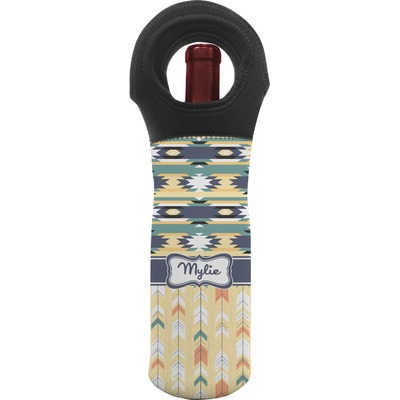 Tribal2 Wine Tote Bag (Personalized)