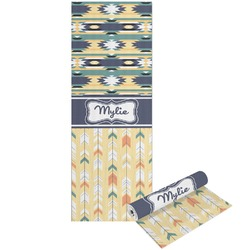 Tribal2 Yoga Mat - Printable Front and Back (Personalized)