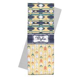 Tribal2 Yoga Mat Towel (Personalized)