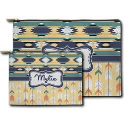 Tribal2 Zipper Pouch (Personalized)