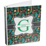 Hawaiian Masks 3-Ring Binder (Personalized)