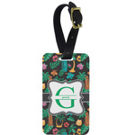 Hawaiian Masks Aluminum Luggage Tag (Personalized)