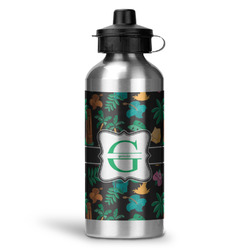 Hawaiian Masks Water Bottle - Aluminum - 20 oz (Personalized)