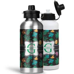 Hawaiian Masks Water Bottles- Aluminum (Personalized)
