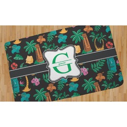 Hawaiian Masks Area Rug (Personalized)