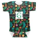 Hawaiian Masks Baby Bodysuit (Personalized)