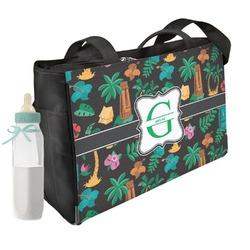 Hawaiian Masks Diaper Bag (Personalized)