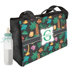 Hawaiian Masks Diaper Bag (Personalized)