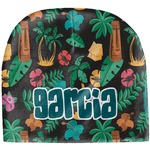 Hawaiian Masks Baby Hat (Beanie) (Personalized)