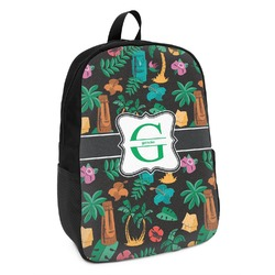 Hawaiian Masks Kids Backpack (Personalized)