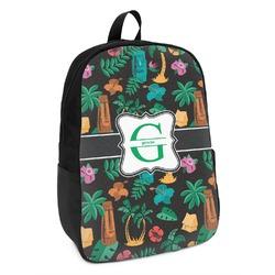 Hawaiian Masks Kids Backpack (Personalized)