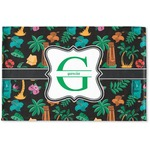 Hawaiian Masks Woven Mat (Personalized)