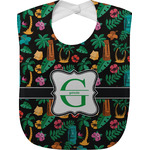 Hawaiian Masks Baby Bib (Personalized)