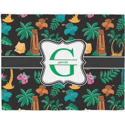 Hawaiian Masks Placemat (Fabric) (Personalized)
