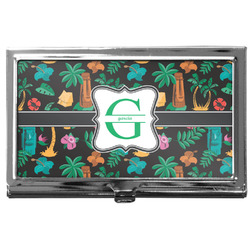 Hawaiian Masks Business Card Case