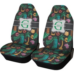Hawaiian Masks Car Seat Covers (Set of Two) (Personalized)