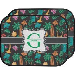 Hawaiian Masks Car Floor Mats (Back Seat) (Personalized)