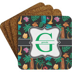 Hawaiian Masks Coaster Set (Personalized)