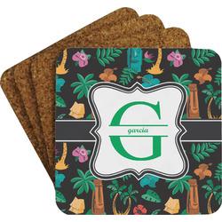 Hawaiian Masks Coaster Set (Personalized)