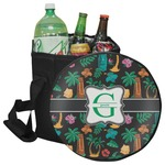 Hawaiian Masks Collapsible Cooler & Seat (Personalized)