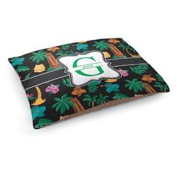 Hawaiian Masks Dog Pillow Bed (Personalized)