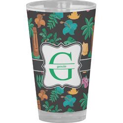 Hawaiian Masks Drinking / Pint Glass (Personalized)