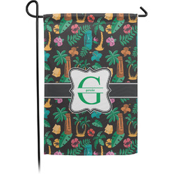 Hawaiian Masks Garden Flag (Personalized)