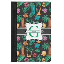 Hawaiian Masks Genuine Leather Passport Cover (Personalized)