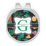 Hawaiian Masks Golf Ball Marker - Hat Clip