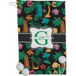 Hawaiian Masks Golf Towel - Full Print (Personalized)