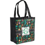 Hawaiian Masks Grocery Bag (Personalized)