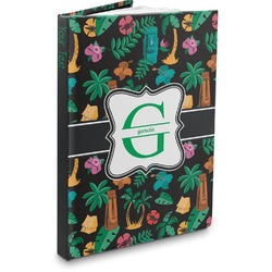 Hawaiian Masks Hardbound Journal (Personalized)